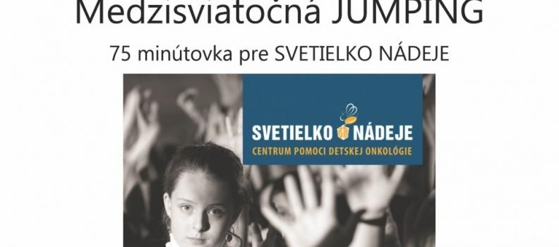 Medzisviatočná jumping 75 minútovka pre Svetielko Nádeje 27.12.2017