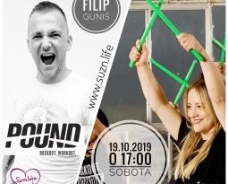 POUND FIT s Filipom Gunišom 19.10.2019